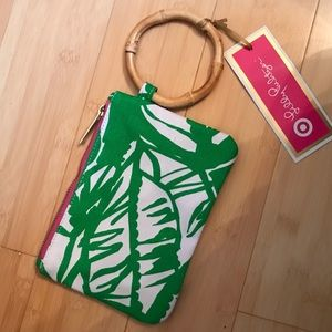NWT Lilly Pulitzer for Target wristlet/clutch